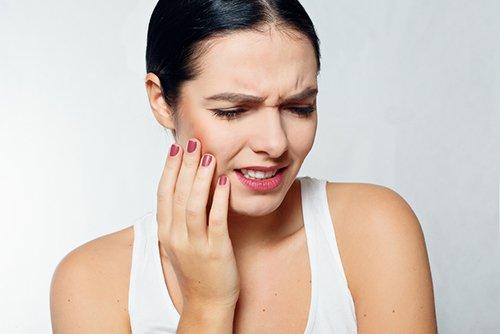 Kiefergelenksschmerzen